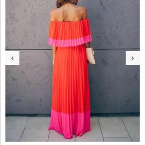 VICI color block Maxi dress M never worn, NWT